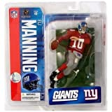 Red Jersey Variant McFarlane Toys NFL Sports Picks Series 20 2009 Wave 1 Action Figure Eli Manning New York Giants