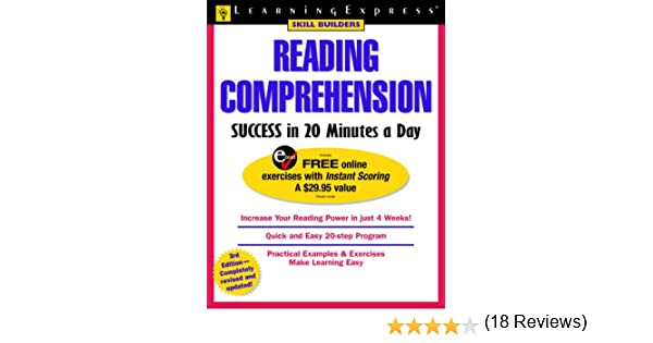 Amazon.com: Reading Comprehension Success in 20 Minutes a Day ...