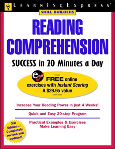 Amazon reading comprehension success in 20 minutes a day skill amazon reading comprehension success in 20 minutes a day skill builders 9781576854945 learningexpress editors books fandeluxe Image collections