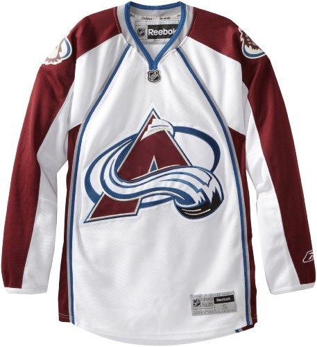 (NHL Colorado Avalanche Premier Jersey, White, XX-Large)
