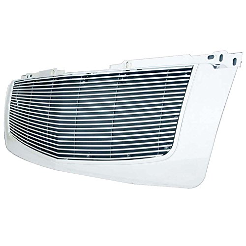 Paramount Restyling 42-0307 Full Replacement Packaged Billet Aluminum Grille with 8 mm Horizontal Bars
