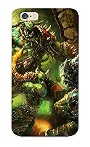 Christmas Gift - Tpu Case Cover For Iphone 6 Strong Protect Case - World Of Warcraft Design