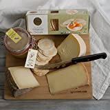 KaBloom Gift Basket Collection: The Organic Gourmet Cheese Set of Gourmet Cheeses, Cheese Board and Cheese Knife