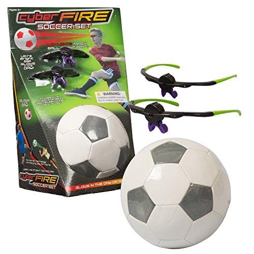 Play Visions Cyberfire - Glow In The Dark Sports Ball - I...