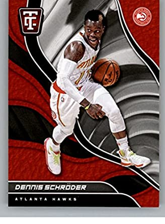 Amazon.com  2017-18 Panini Totally Certified  15 Dennis Schroder NM ... f8209d34b