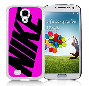 Fahionable Custom Designed Samsung Galaxy S4 I9500 i337 M919 i545 r970 l720 Cover Case With Nike 26 White Phone Case