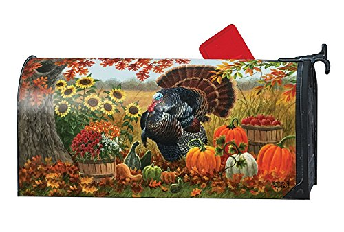 Studio M Thanksgiving Outdoor Mailbox Cover MailWrap - Turkey Pride by Studio M
