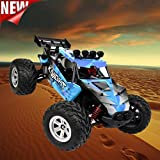 Excellent 1:12 High Speed Motor High Capacity Battery Waterproof IP4 RC Desert Off-Road Racing Truck Car Gifts Dreamyth (blue)
