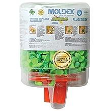 Moldex PlugStation Earplug Dispenser With 250 Pair Single Use Meteors Small Foam Earplugs(QTY/6 Dispensers)