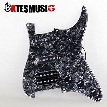 Para guitarra eléctrica OzuzuTM Golpeador de caparazón de tortuga estándar ST2: Amazon.es: Instrumentos musicales