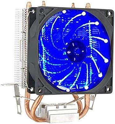 Ventilador de disipación de calor de luz LED de tubo de disipador ...