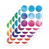 PARLAIM Vinyl Multi Color Wall Decor Stickers Circles , Removable Polka Dots Wall Decal with Gift Packaging for Kids Room,Living Room ,Bedroom (Multicolor ,3 inch x 54 Circles)