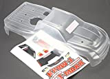 Traxxas 4921 Clear T-Maxx 3.3 Body (long wheelbase) with Decal Sheet