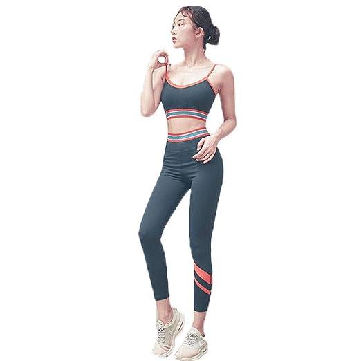 XYAIPR Traje de Ropa de Yoga, Hembra, Cosiendo, Transpirable ...