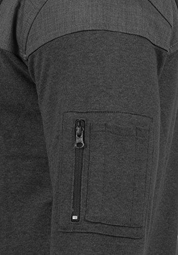 gris con oscuro y con para y cremallera Tarias capucha cremallera 8288 hombre con cremallera de Sudadera wcAIqOw6