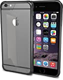 iPhone 6/6s Case - PureView Clear Case for iPhone 6/6s (4.7') by Silk - Ultra Slim Protective Crystal Clear Phone Cover (Midnight Black)