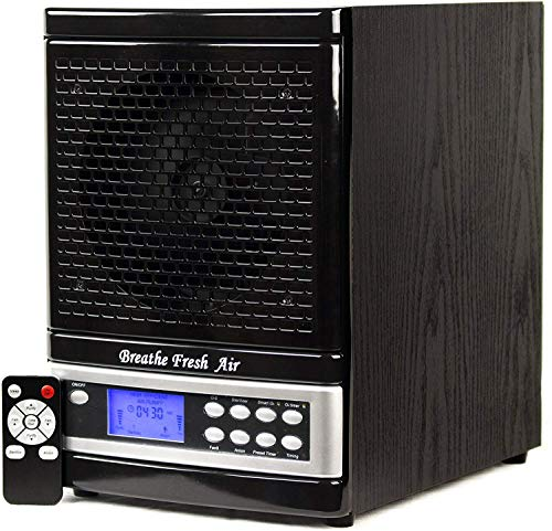 Breathe Fresh Air Purifier w/UV, Ozone Generator, Ionizer Odor Reducer, PCO Filtration Cleaning