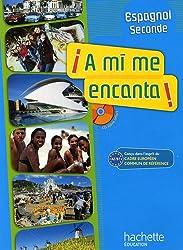 Espagnol 2e A mi me encanta ! A2/B1 (1CD audio)