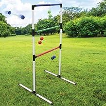 HB Sports Ladder Toss Game - Fun Outdoor Back Yard Ladder Golf Ball Game