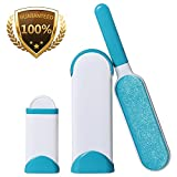 JJYPet Pet Hair Remover Brush with Self-Cleaning Base,Efficient Fur/Lint Removal Brush for Cloth,Carpet,Furnitures