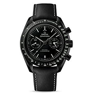 "51JXgc3mjeL. SS300  - Omega Speedmaster Moonwatch Co-Axial Chronograph ""Dark Side of the Moon Pitch Black"" Men's Watch 311.92.44.51.01.004"