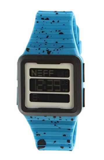 Reloj Neff para hombre Odyssey - Cyan/negro reloj digital talla única: Amazon.es: Relojes