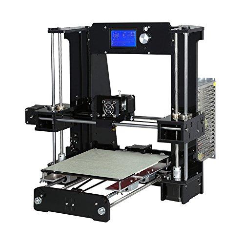 Ocamo Anet A6 High Precision Big Size Desktop 3D Printer Kits DIY Self Assembly LCD Screen U.S. regulations