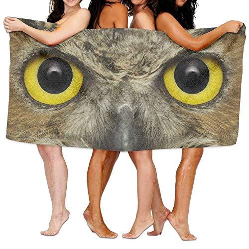 X-Large Bath Towels, Eagle Big Eyes Super Soft Ultra Absorbent Bath Towel for Men Women Kids, Bathroom (Eagles Paper Clip Holder)