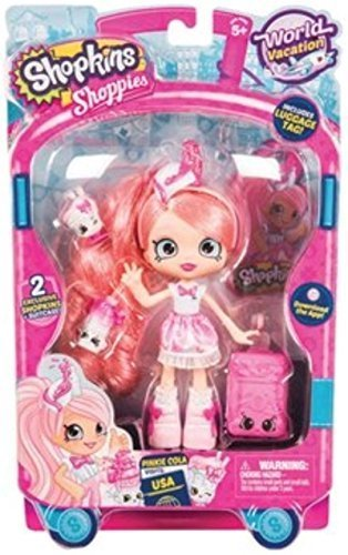 Shopkins Shoppies Season 8 Wave 3 World Vacation Pinkie Cola