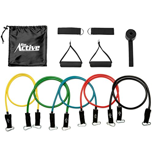 Go Active Lifestyles Resistance Bands For Legs And Butt - Wi