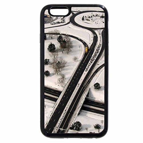 iPhone 6S / iPhone 6 Case (Black) wonderful highway interchange in saint-malo france