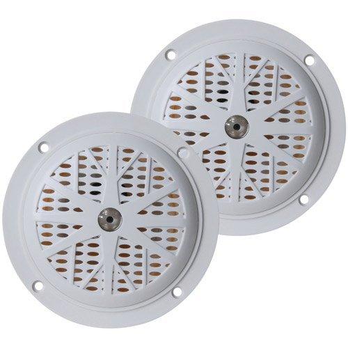 PYLE PLMR41W Hydra Series Dual-Cone Waterproof Stereo Speakers (4