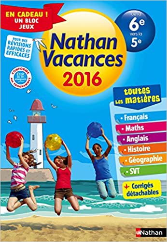 Amazon Fr Nathan Vacances College De La 6e Vers La 5e