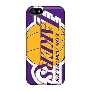Excellent Design Los Angeles Lakers Phone Case For Iphone 5/5s Premium Tpu Case