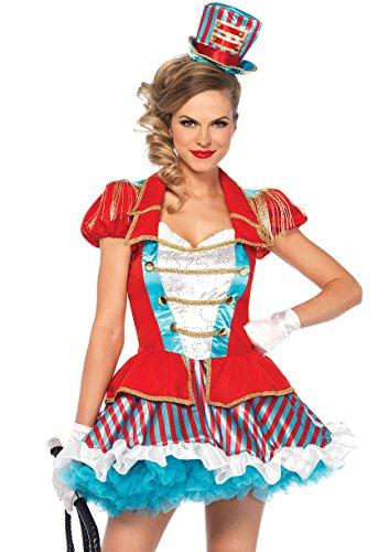 Leg Avenue Women's Circus Ringmaster Costume, Multi -