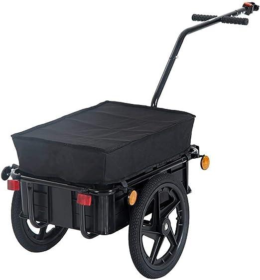 Remolque de bicicleta de carga con almacenamiento de equipaje ...