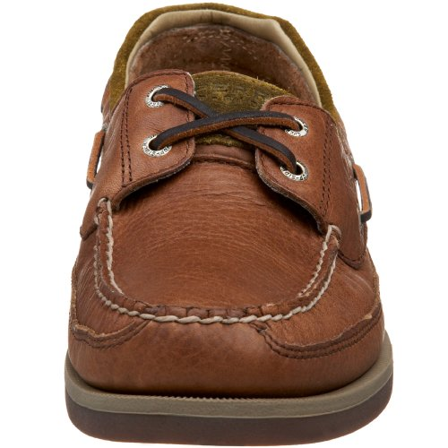 Sperry Top-Sider hombres Mako 2 Eye Boat zapatos, Coffee/Fawn, 12 M US
