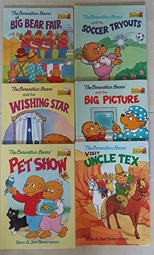 The Berenstain Bears, Visit Uncle Tex, Big Picture, Soccer Tryouts, Pet Show, Wishing Star, Big Bear Fair