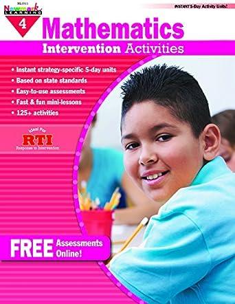 Newmark Learning Grade 4 Everyday Mathematics Intervention Activity Aid