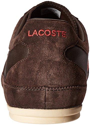 Lacoste Mens Misano 22 Lcr Fashion Sneaker Donkerbruin