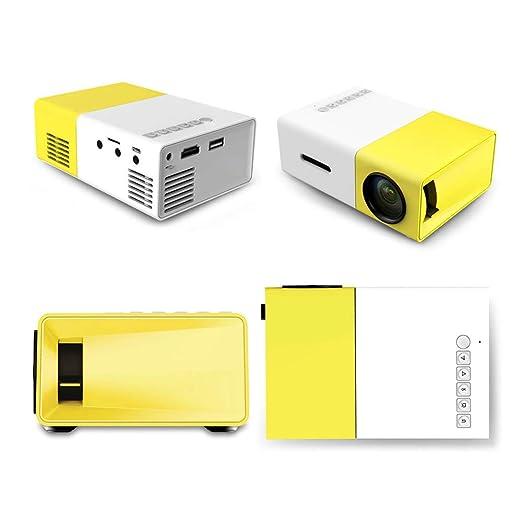 Pico Projector - Proyector de Video LED portátil 600 Lux Full HD ...