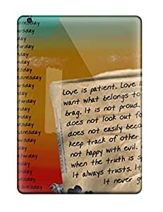 Excellent Ipad Air Case Tpu Cover Back Skin Protector Everyday Love Quote