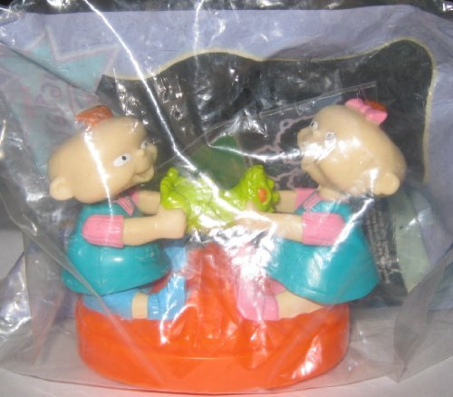 Burger King Kids Meal Toy - Rugrats - Phil and Lil
