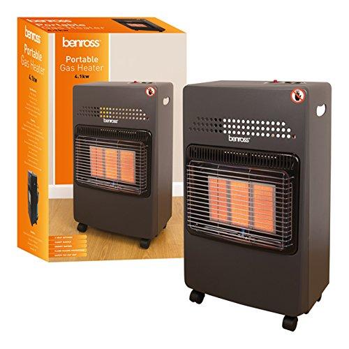 Benross Portable Gas Cabinet Heater, 4.1 KW, 4100 Watt Benross Marketing Ltd 47280