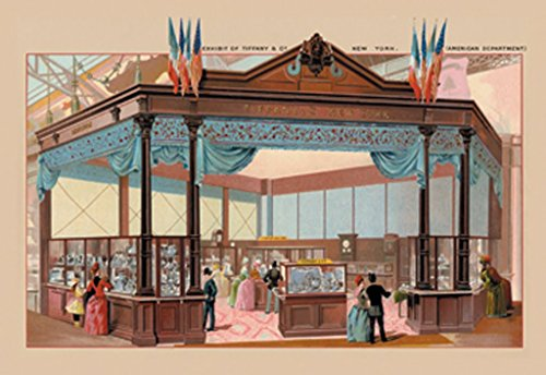 ArtParisienne Tiffany and Co. Paris Exhibition 1889 20x30 Poster Semi-Gloss Heavy Stock Paper ()
