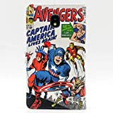TPACC Galaxy J3 2018 Case, Cartoon Comic Superhero Alliance Pattern Wallet Card Flip Stand Leather Case for Samsung Galaxy J3 2018/J3 Star/J3 Orbit/J3 V 3rd Gen/J3 Achieve/Express Prime 3/Amp Prime3