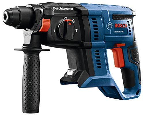 Bosch GBH18V-20N 18V 3/4 in. SDS-plus Rotary Hammer (Bare Tool) (Best 18v Sds Drill)