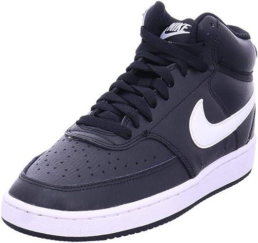 Sequía precio Vegetales  Nike Women's Court Vision Mid High Trainers, Black, 38 EU: Amazon.de: Schuhe  & Handtaschen