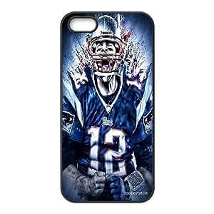 LSQDIY(R) Tom Brady iPhone 5,5G,5S Custom Case, High-quality iPhone 5,5G,5S Case Tom Brady