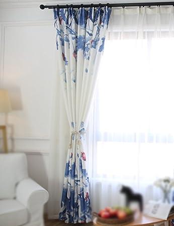 Vorhänge ZCJB Moderne Tinte Malerei Stil Semi Shading Tuch Schlafzimmer  Wohnzimmer Studie Nach Maß Fertig